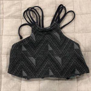 Maaji Jacquard Reversible Swim Top